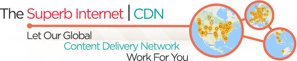 Our Content Delivery Network Banner